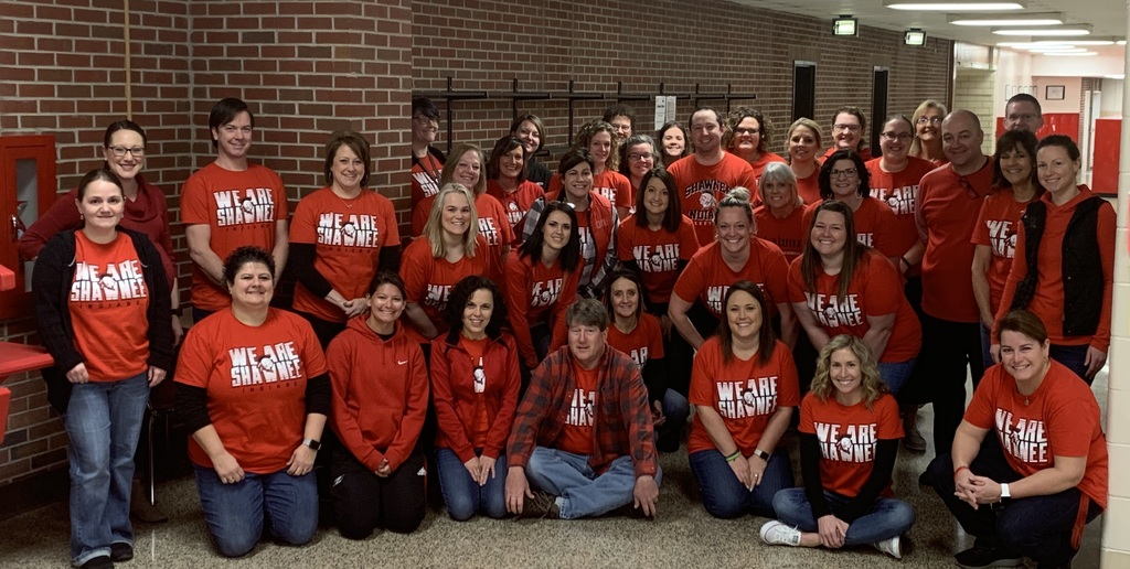 SMS Staff in Red