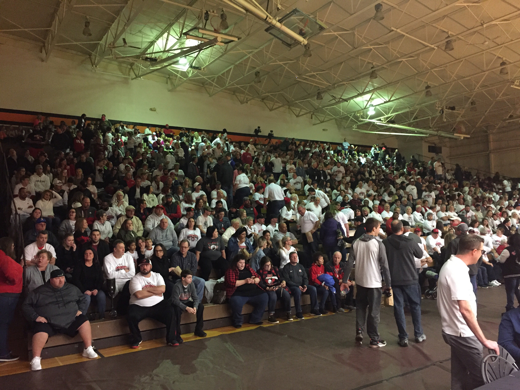 District final crowd